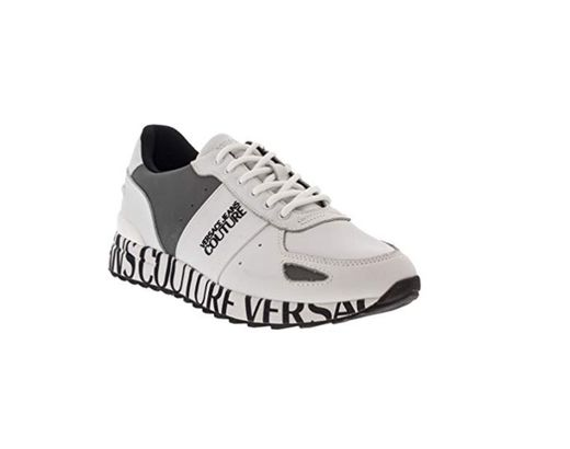 Versace Jeans Couture Hombre Zapatillas Bianco 41 EU