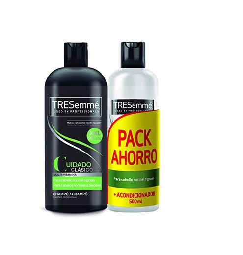 Tresemmé Clásico Pack Champú y Acondicionador - 900 ml