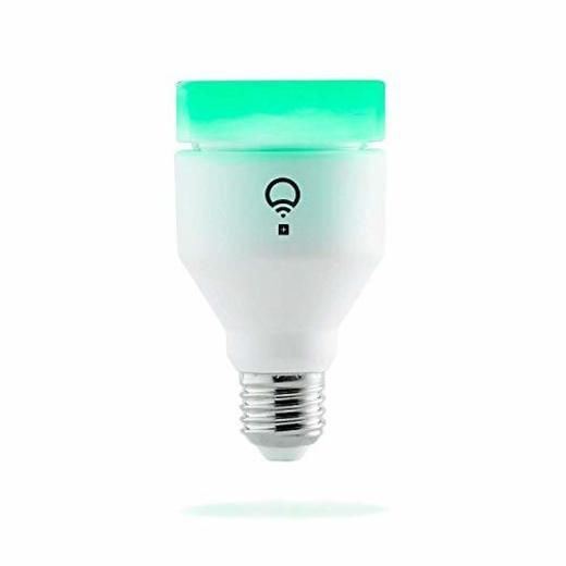 Lifx LHA19E27UC10P Bombilla de Luz LED Inteligente Wi-Fi con Infrarrojos para Visión