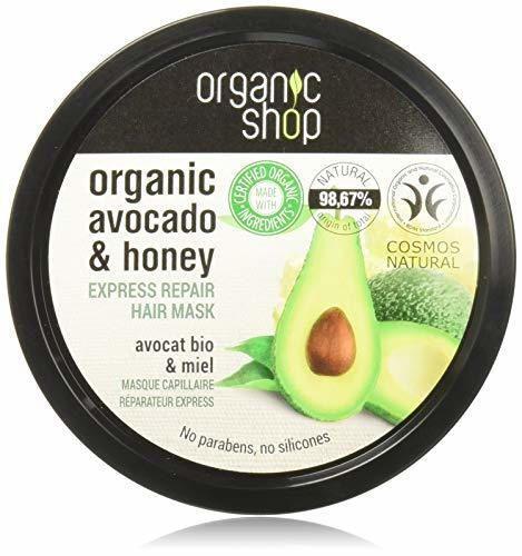 Organic Shop Express Miel Aguacate Mascarilla Capilar Reparadora
