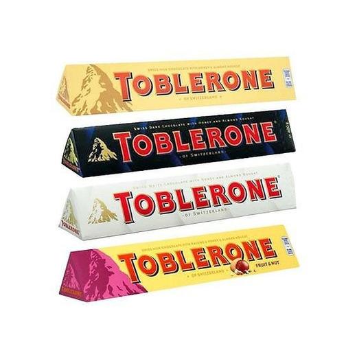 Toblerone Ultimate 4 Pack - 360g Each - Milk Chocolate