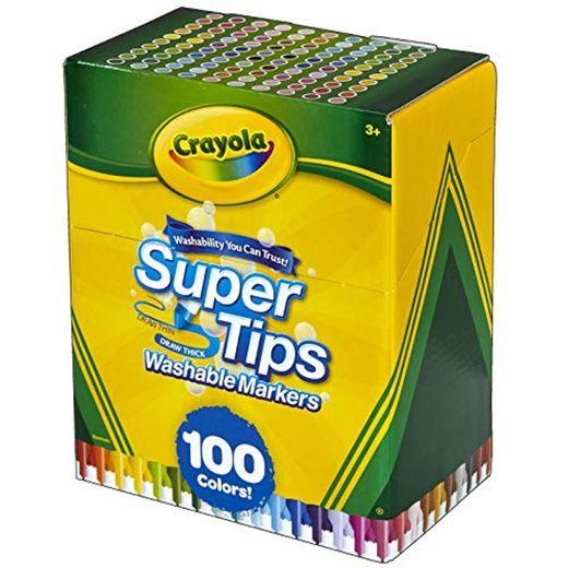 Crayola Lavable Super Consejos marcadores