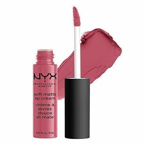 NYX Professional Makeup Pintalabios Soft Matte Lip Cream, Acabado cremoso mate, Color