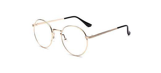 Outray Vintage Inspired Gafas redondas clásicas Gafas con montura metálica Gafas con
