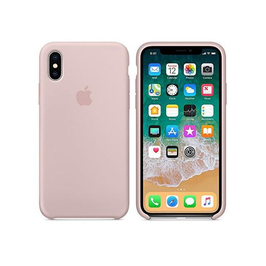 El último Verano iPhone X Funda, Slim Líquido de Silicona Gel Carcasa