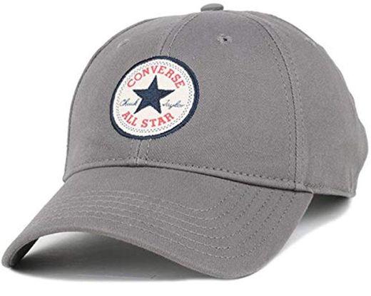 Converse Flat Peak Snapback Baseball Cap ~ Core White