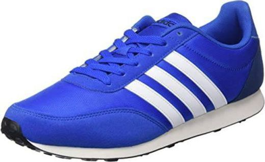 adidas V Racer 2.0, Zapatillas de Running para Hombre, Azul Dark Blue