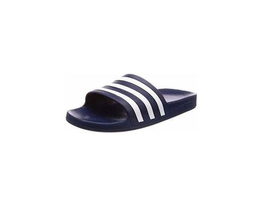 Adidas Adilette Aqua Zapatos de playa y piscina Unisex adulto, Azul