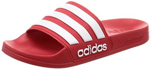 Adidas Adilette Shower Chanclas Hombre, Rojo