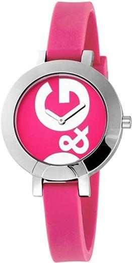 Dolce & Gabbana D&G - Reloj analógico de Cuarzo para Mujer con