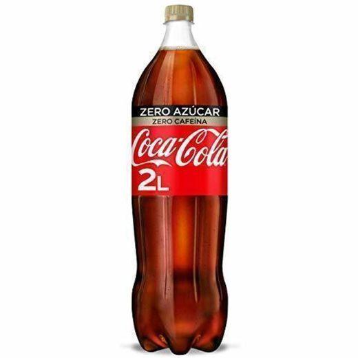 Coca-Cola Zero Azúcar Zero Cafeína Botella