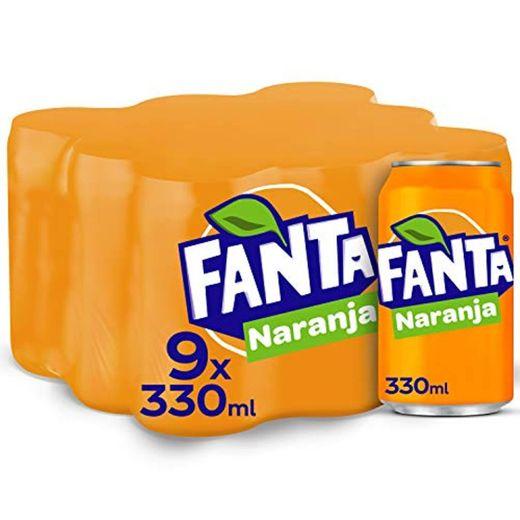 Fanta - Naranja, Refresco con gas, 330 ml