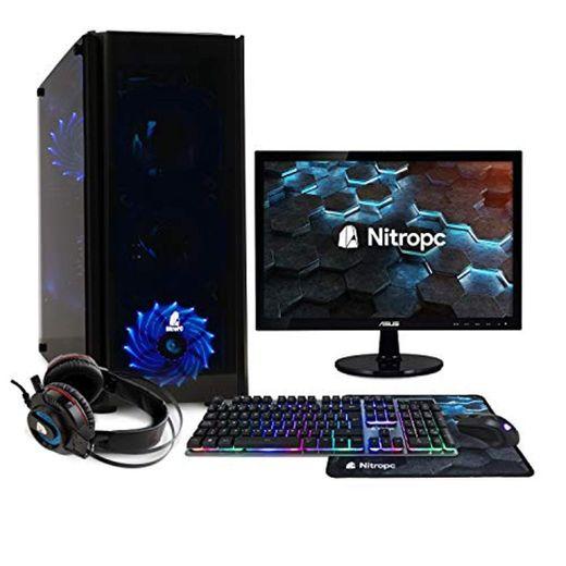NITROPC - PC Gaming Pack Bronze Rebajas | PC Gamer (CPU Ryzen