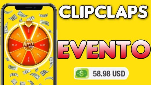 EVENTO CLIP CLAPS