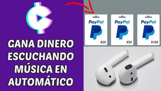 DINERO POR ESCUCHAR MÚSICA - Current cash Rewards