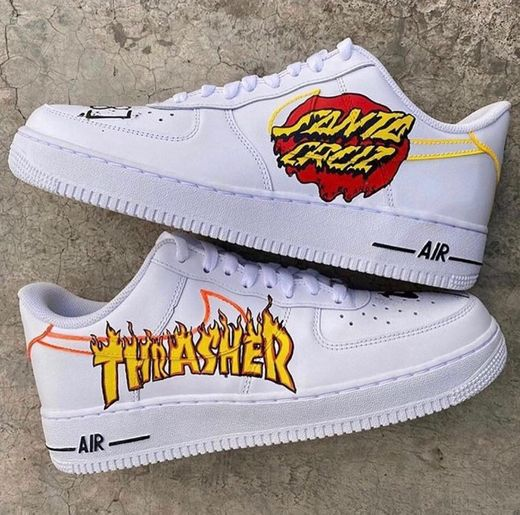 Nike X Thrasher X SantaCruz