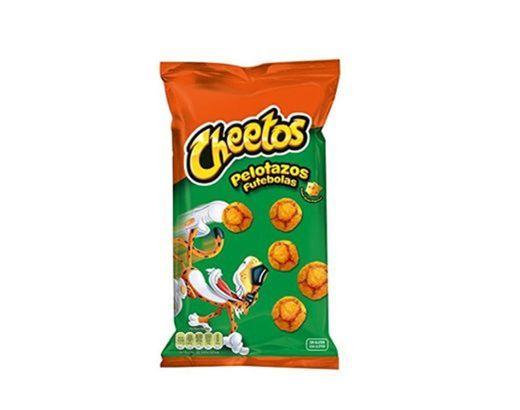 Cheetos Pelotazos - Producto de aperitivo horneado con sabor a queso -