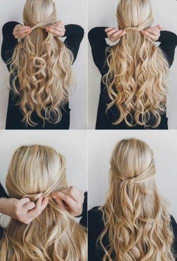 Apanhado da parte da frente do cabelo