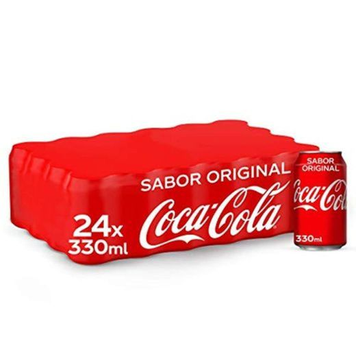 Coca-Cola Sabor Original Lata - 330 ml (Pack de 24)