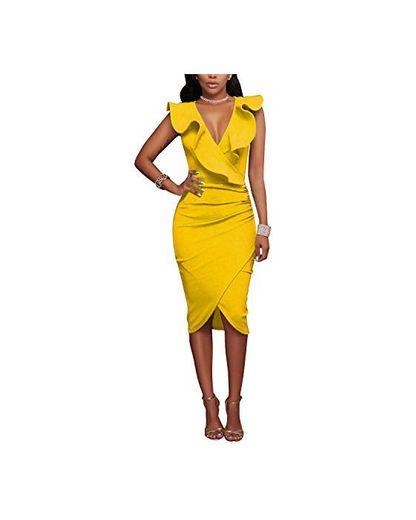 Gikim - Vestido de Bodycon para Mujer