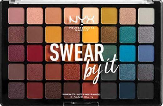 NYX Professional Makeup Paleta de sombra de ojos Swear By It Eye