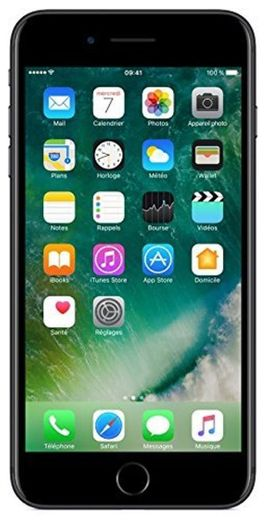 Apple iPhone 7 Plus Smartphone Libre Negro 256GB