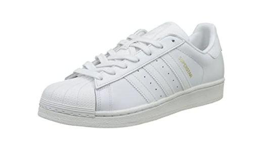 adidas Superstar, Zapatillas de deporte Unisex Adulto, Blanco