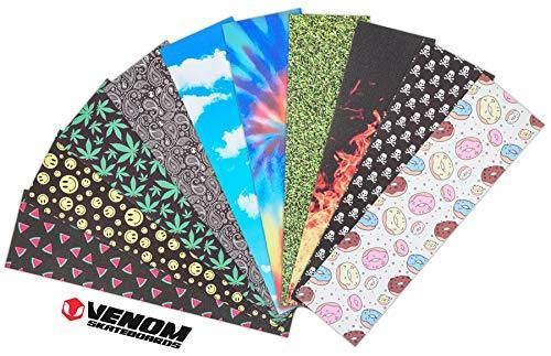 Venom Skateboards Premium Range - Cinta de Agarre para monopatín