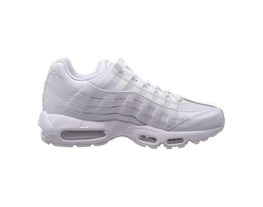 Nike Wmns Air MAX 95, Zapatillas de Gimnasia para Mujer, Blanco