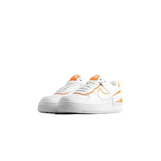 Zapatillas de Mujer Sneakers NIKE Air Force 1 Shadow en Piel Blanca