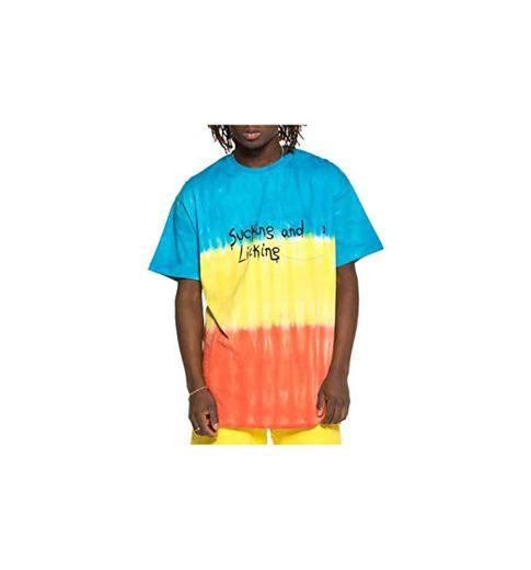 GRIMEY Camiseta Laughing Boy tee SS19 Blue