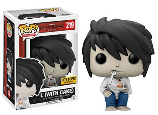 Figura POP! Death Note L with Cake