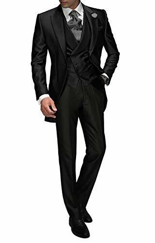 Suit Me Tailored Men Suit 3 piezas de traje de chaqueta de