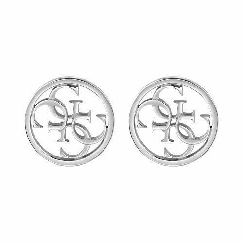 Guess Pendientes de botón Mujer chapado en plata