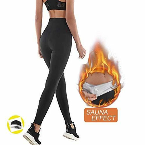 NHEIMA Pantalones de Sauna Adelgazantes Mujer NANOTECNOLOGÍA, Leggins Reductores Adelgazantes, Leggins Anticeluliticos