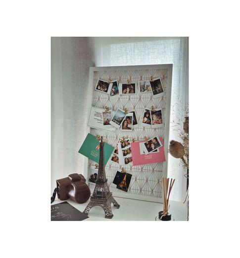 Tablero para fotos blanco 40 × 60
