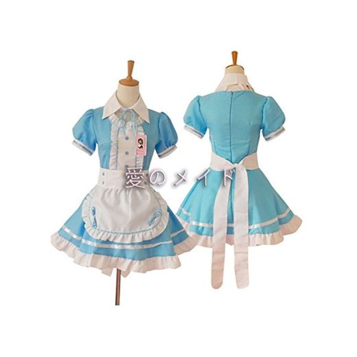 Women's Lolita French Maid Cosplay Costume, 4 pcs as a set including