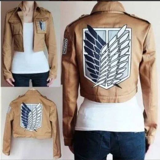 Chaqueta de attack on titan