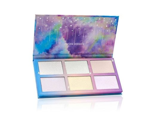 TZ cosmetix-Aurora boreal 6colores paleta de maquillaje Kit de maquillaje en polvo