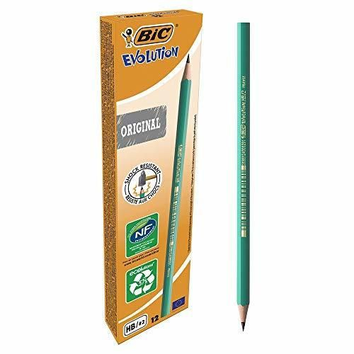 BIC Evolution HB - Lápiz con mina irrompible