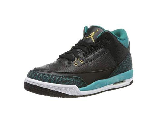 Jordan 441140-018, Zapatillas de Deporte para Niñas, Negro