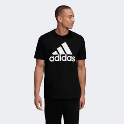adidas Most Haves Badge of Sports TS M Camiseta, Hombre, Gris