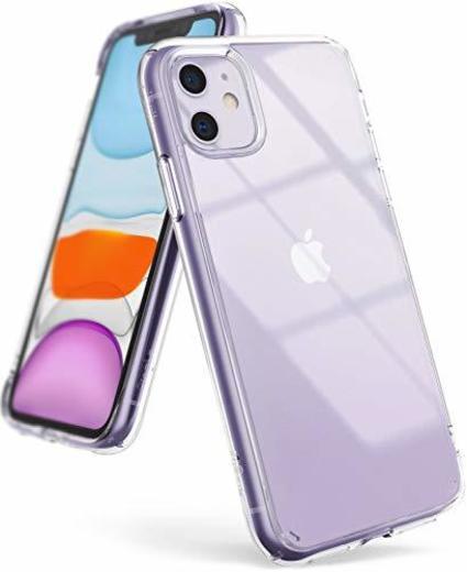 Ringke Fusion Diseñado para Funda Apple iPhone 11, Transparente al Dorso Carcasa