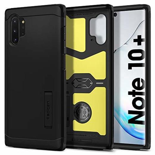 Spigen Funda para Galaxy Note 10 Plus/Note 10+ Tough Armor con Kickstand