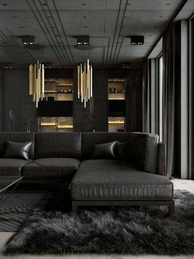 Black decor