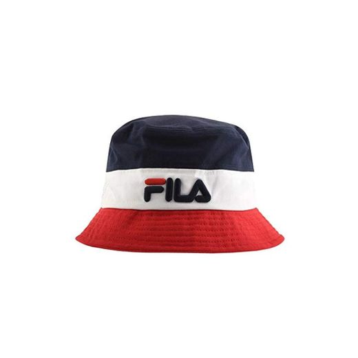 Fila Vintage Bloc Bucket Hat Red