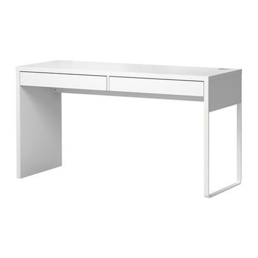 Ikea MICKE escritorio en color blanco;