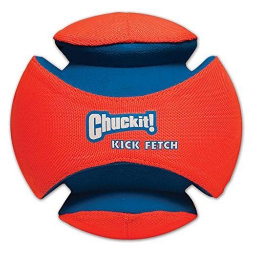 Chuckit! 251201 Kick Fetch Balón de Fútbol para Perros