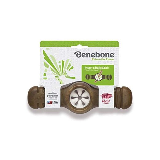 Benebone Medium Bacon Flavored Pawplexer for Dogs