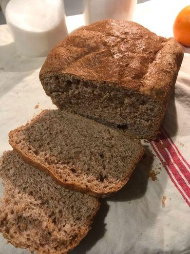 📝receta pan en panificadora
